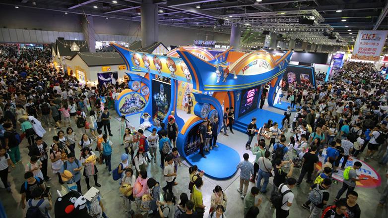 22.5万人共享娱乐盛宴,CICF EXPO 2016